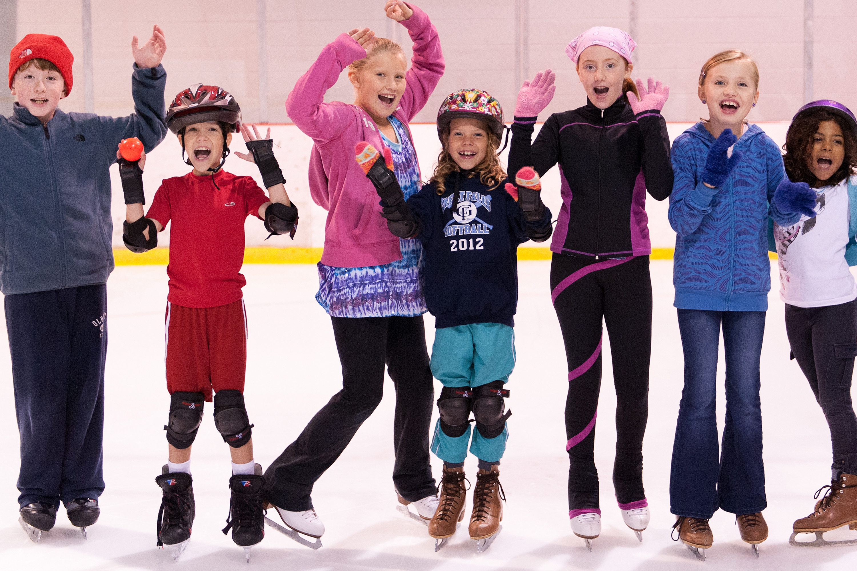Figure skating for children: where to drive a child